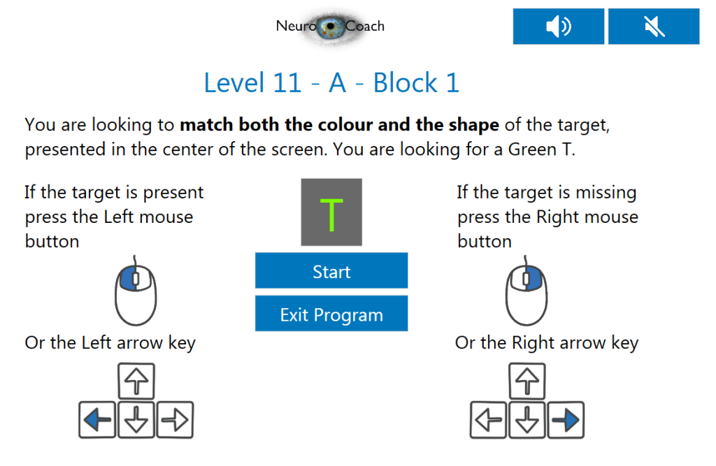 Userfriendly and easy to use for stroke or TBI pateints: NovaVision NeuroEyeCoach application