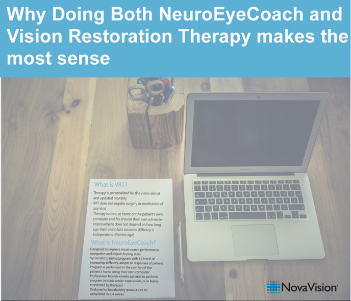 Why Doing Both NeuroEyeCoach And Vision Restoration Therapy Makes The Most Sense