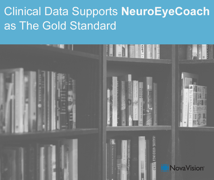Clinical Data Supports NeuroEyeCoach As The Gold Standard