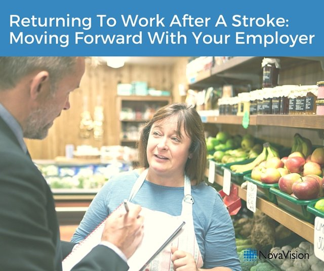 Returning To Work After A Stroke: Moving Forward With Your Employer
