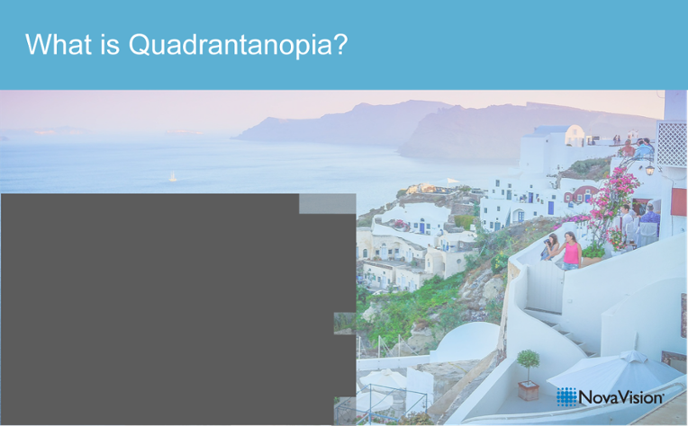 What Is Quadrantanopia?