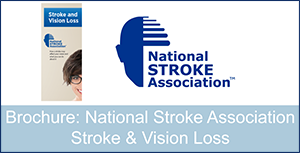 Brochure: National Stroke Association Stroke and Vision Loss